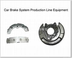 Brake Shoe Mfg Machinery