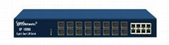16 Fiber Port 8 Copper Port Ethernet Switch