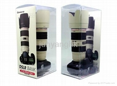 Canon Design DSLR Camera EF 70-200mm USM II Coin Bank Money