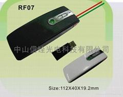 RF laser Wireless flip pen