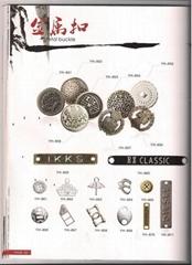 metal butons