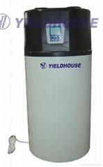 Monobloc air source heat pump hot water