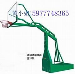 南寧市透明剛化板籃球架