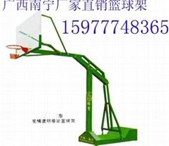 南寧體育公司供應電動液壓籃球架