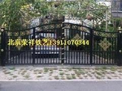 北京荣祥铁艺生产加工铁艺庭院门
