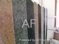 granite and marble slabs