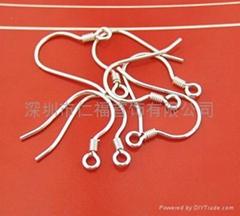 925银饰,配件,纯银,耳环,吊坠,项链