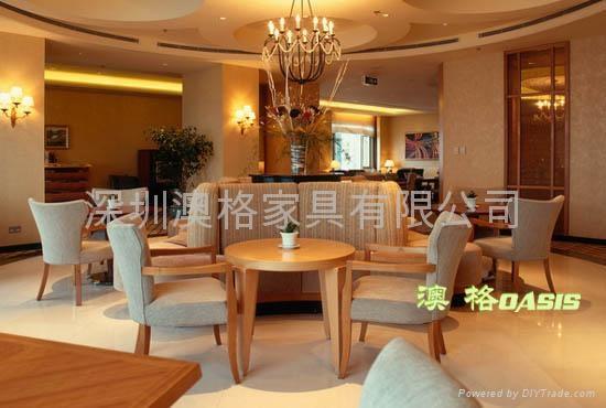 實木西餐桌 3