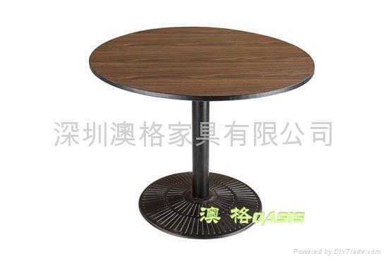 咖啡廳餐桌 3