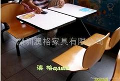 快餐廳桌椅
