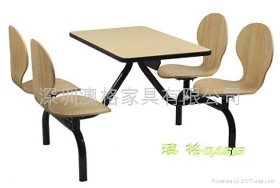 快餐廳桌椅 2