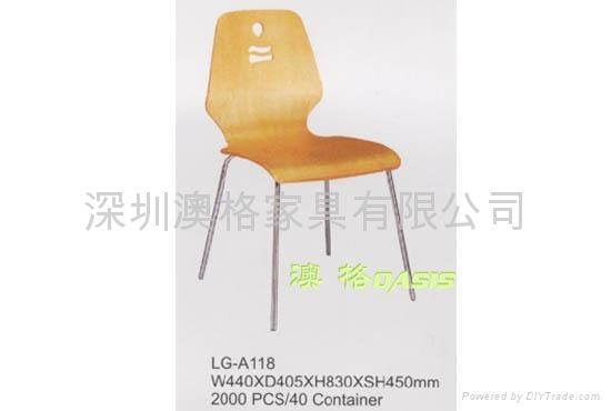 曲木椅 1