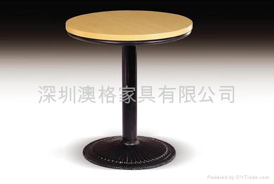 咖啡廳餐桌定做 1