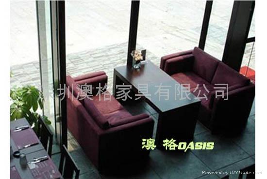 西餐廳沙發 5