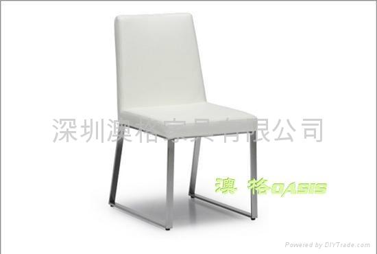 不鏽鋼西餐椅 1