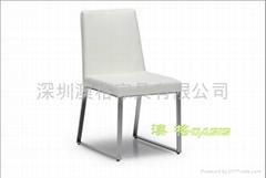不鏽鋼西餐椅