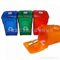 Trash Bin Pencil Sharpen