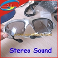 Fashion Sunglasses MP3 Player with Bluetooth, FM and Hidden Camera