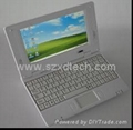 7 Inch laptop mini notebook with wifi