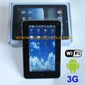 7 inch MID with Wifi Camera and External 3G Function