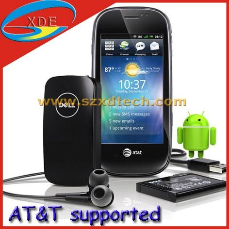 Dell Aero Copy Android 2.3 OS 5.0 Mega pixel Camera AT&T Supported