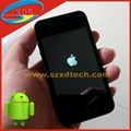 5 Points Capacity Touch Screen Replica iPhone 4S Android OSBuilt-in 4GB for Free