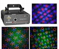 RGB grating pattern laser