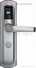 國產指紋鎖-防盜門指紋密碼鎖-鐵門