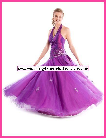 Bridal Bridesmaid_ Wedding Gown Prom Ball Evening Dress