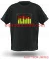 HOT Xmas Gifts EL Flashing Panel Tshirt ( HNR 0031 )