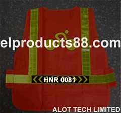 New Hi-visible EL Flashing Safety Vest EL Vest EL Panel