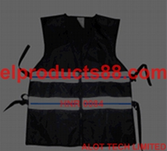 EL Panel  Flashing Vest EL Glowing Safety Vest EL Panel