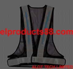 New EL Safety Vest Mining Products Safety Reflective Vest Jacket EL Panel