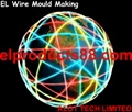 EL Wire Flashing Mould Making EL Lighting Terrestrial Globe ( HNR 0120 )