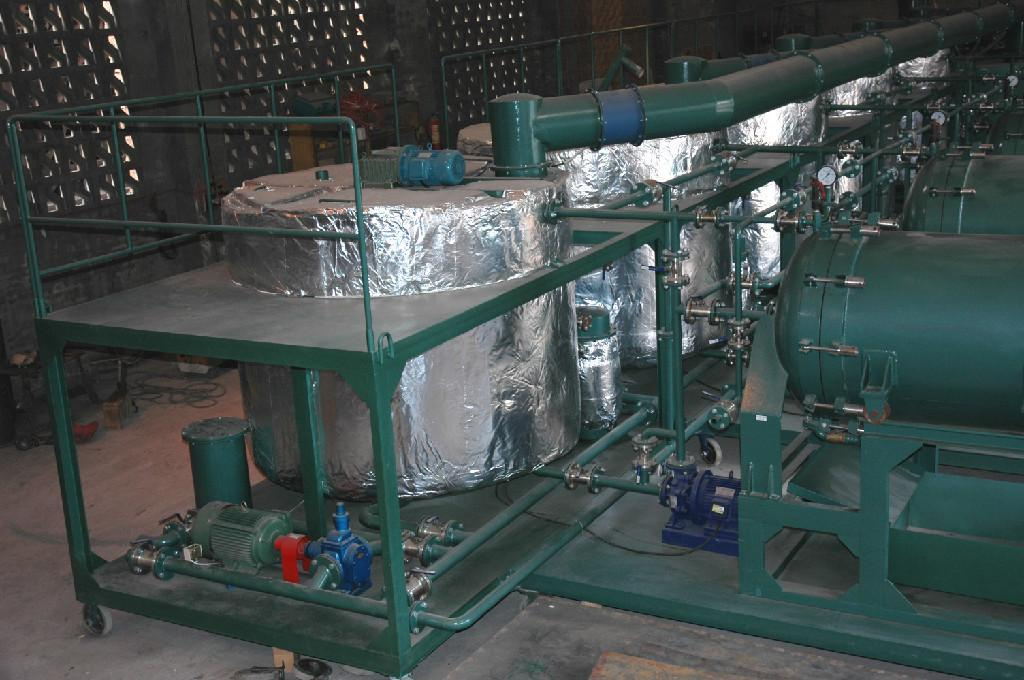 Used engine oil motor oil ship oil recycling equipment for Used motor oil recycling equipment
