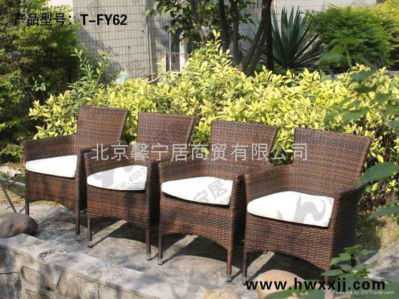 藤編椅  TFY62 2