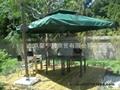 遮阳伞---双层方形360°旋转伞 2