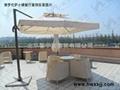 遮阳伞---双层方形360°旋转伞 3