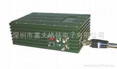 模拟340MHz单兵背负移动视频监控/车载无线监控