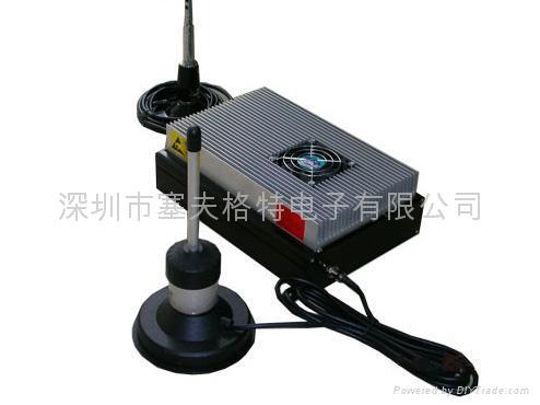军工级50W中继台/军工级中继器/微波中继台/无线监控中继器 1