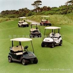 本鈴2、4座電動會所車/電動高爾夫球車
