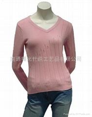 3-12G羊毛衫整套加工