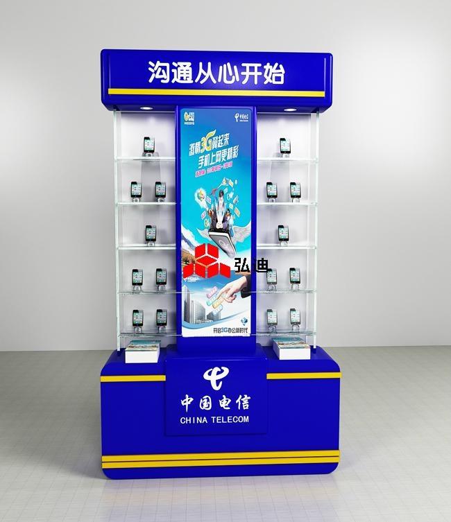 oppo手机柜/展示柜,高超的品牌运作能力成为国产手机