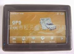 """4.3"""" Portable gps naviga"""