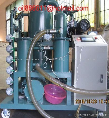 Multi-function vacuum transformer oil purifier /oil filtration systems 1
