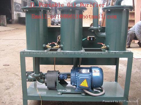 Cheap Portable oil purifier, oil cleaning machine 1
