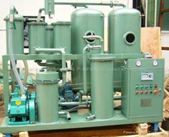 Vacuum Lubricating oil purifier machine/ Hydraulic Oil recycling