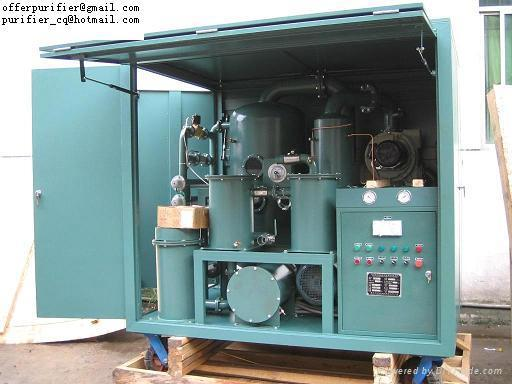 2-stage Vacuum insulating/Transformer oil purifier,with Shield 1