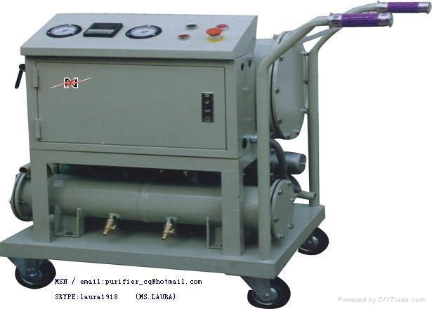PORTABLE diesel & gasoline oil purifier/ oil recovery/oil recycling 1