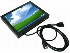 12寸工业注塑机专用触摸液晶显示器